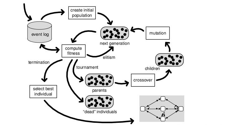 Genetic Process Mining