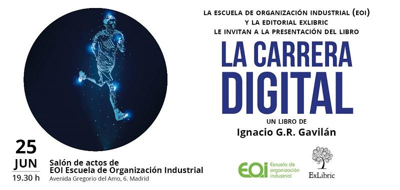 Presentación del libro La Carrera Digital
